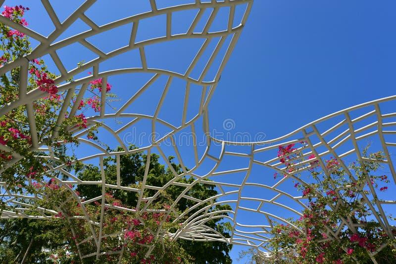 迈阿密海滩林肯公园 库存图片