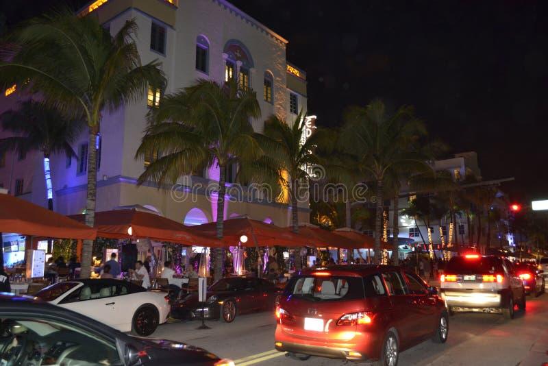 迈阿密海滩街道 库存图片
