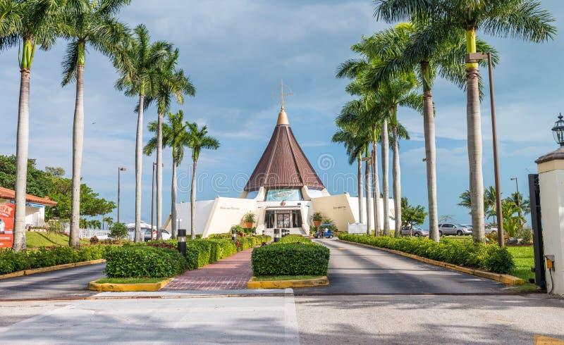 迈阿密, FL - 2016年2月23日:Santuario Nnacional De La埃尔米塔 库存照片