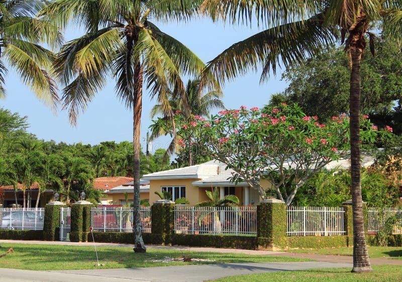 迈阿密-科勒尔盖布尔斯 免版税库存图片
