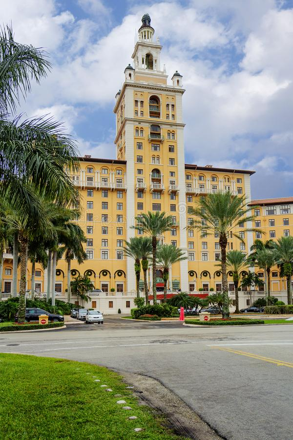 迈阿密 Biltmore旅馆 Fl 美国 库存照片