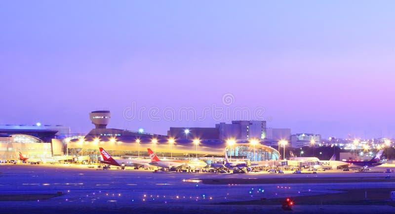 迈阿密Iternational机场 库存图片