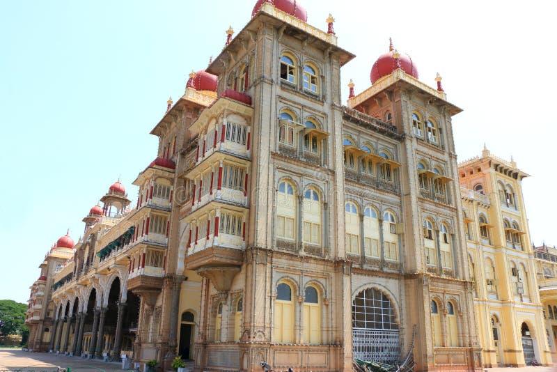 迈索尔宫殿,印度 免版税库存图片