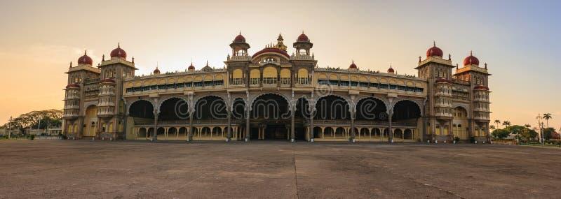 迈索尔宫殿-印度 图库摄影