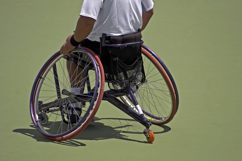 运动员轮椅 图库摄影