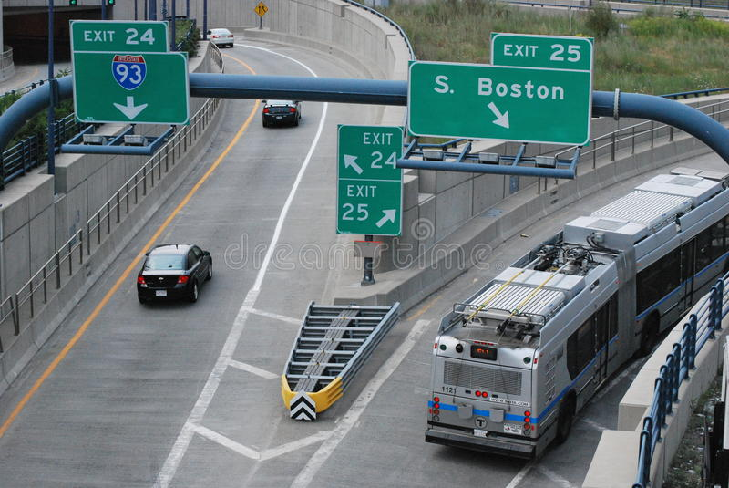 运动在波士顿 库存图片