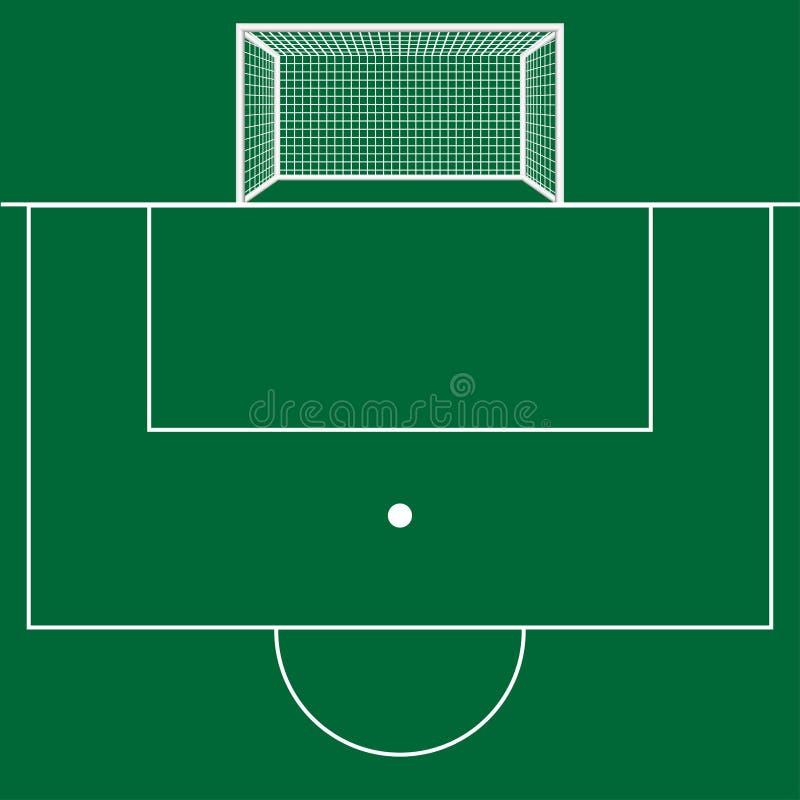 运动场运动场橄榄球足球 也corel凹道例证向量 皇族释放例证
