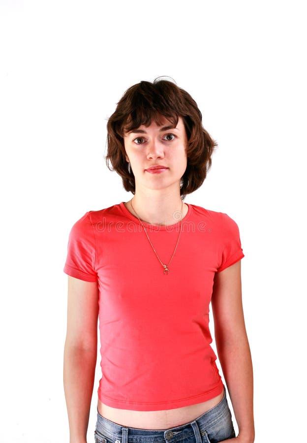 运动的妇女年轻人 免版税图库摄影