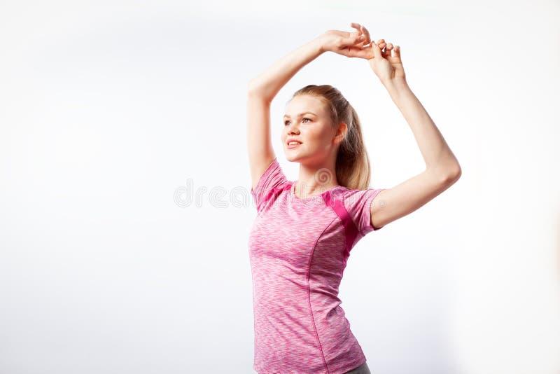 运动的妇女 图库摄影