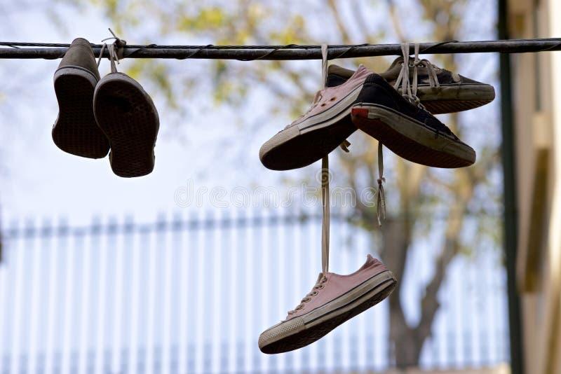 运动鞋 免版税图库摄影