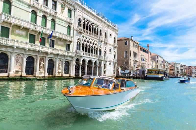 运河全部威尼斯视图 图库摄影
