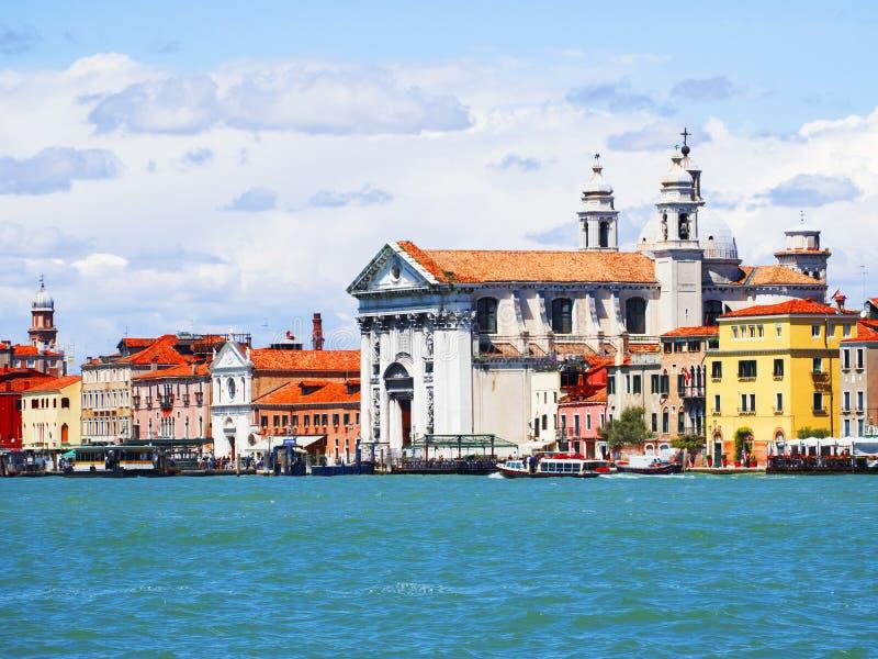 运河全部意大利威尼斯 库存图片