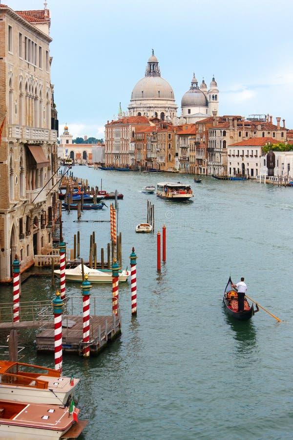 运河全部s威尼斯 库存图片