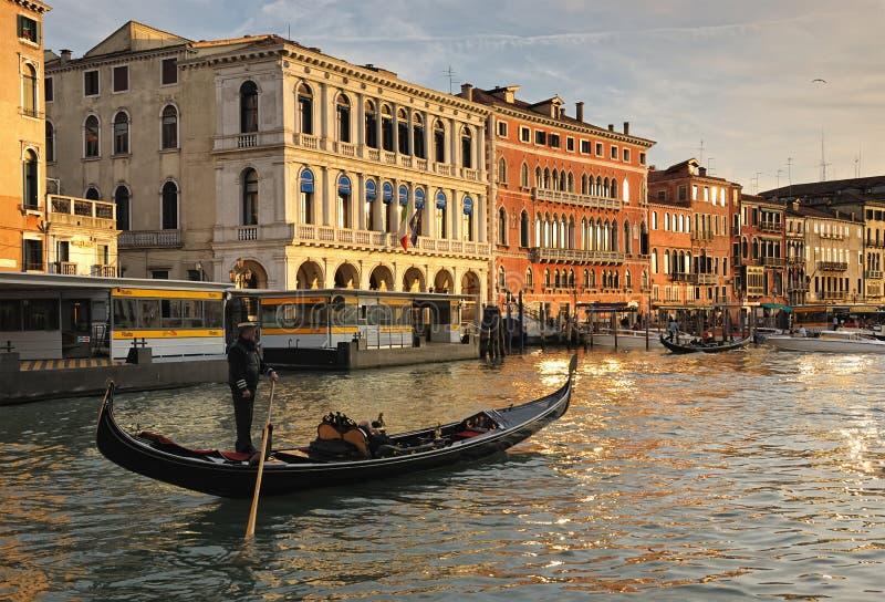 运河全部s威尼斯 免版税库存图片