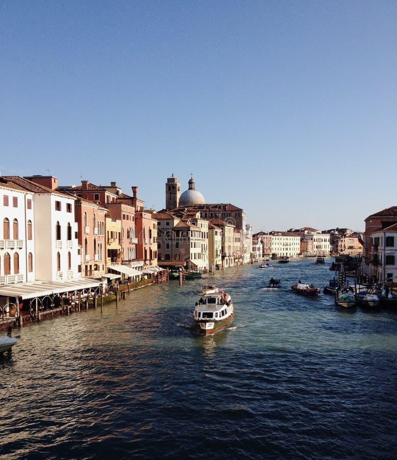 运河意大利威尼斯 图库摄影