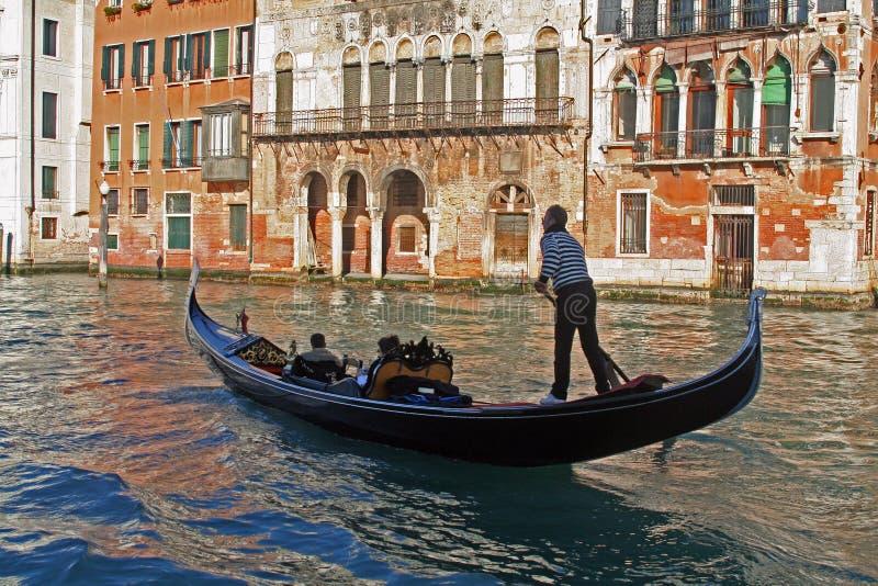 运河意大利威尼斯 免版税库存照片