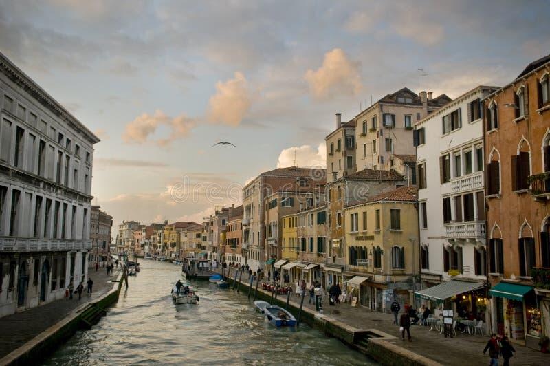 运河意大利 免版税库存图片
