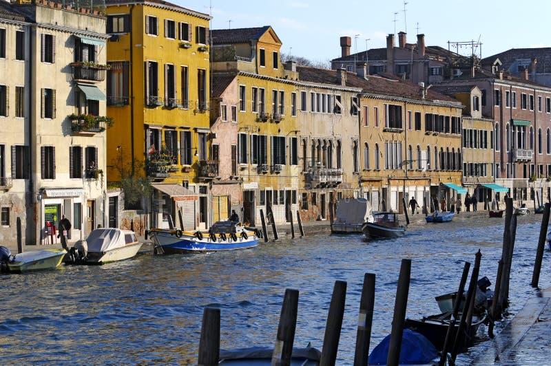 运河意大利 库存照片