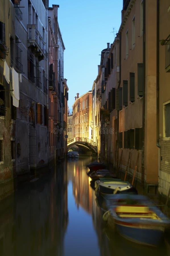 运河照片股票威尼斯 免版税图库摄影