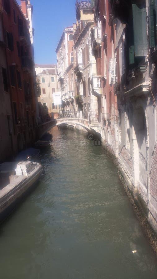 运河en德贝内西亚 库存照片