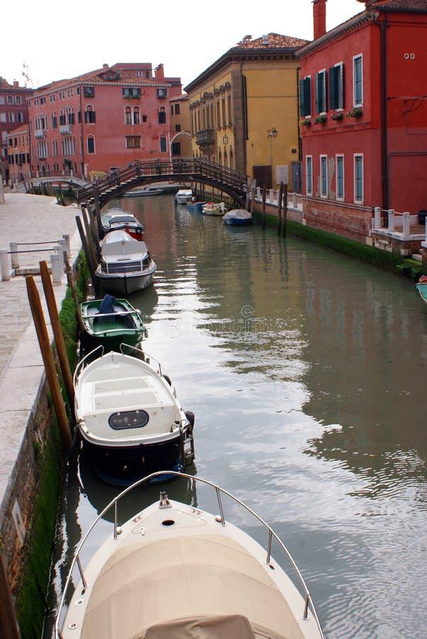运河gran威尼斯 免版税库存照片