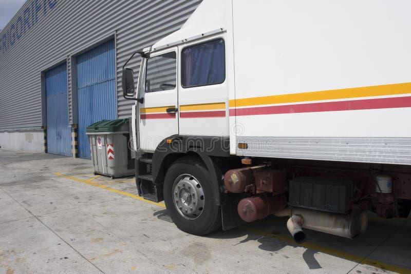 运费卡车 免版税库存图片