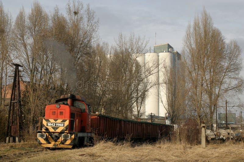 运费行业铁路运输 免版税库存图片