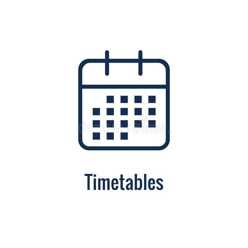 运输和接受象设置与箱子、仓库、清单等等 库存例证