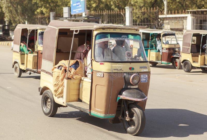 运输在巴基斯坦 免版税库存图片