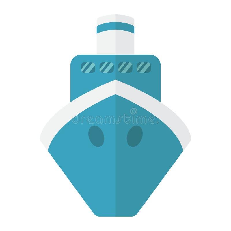 运输平的象、运输和小船,旅行标志 库存例证