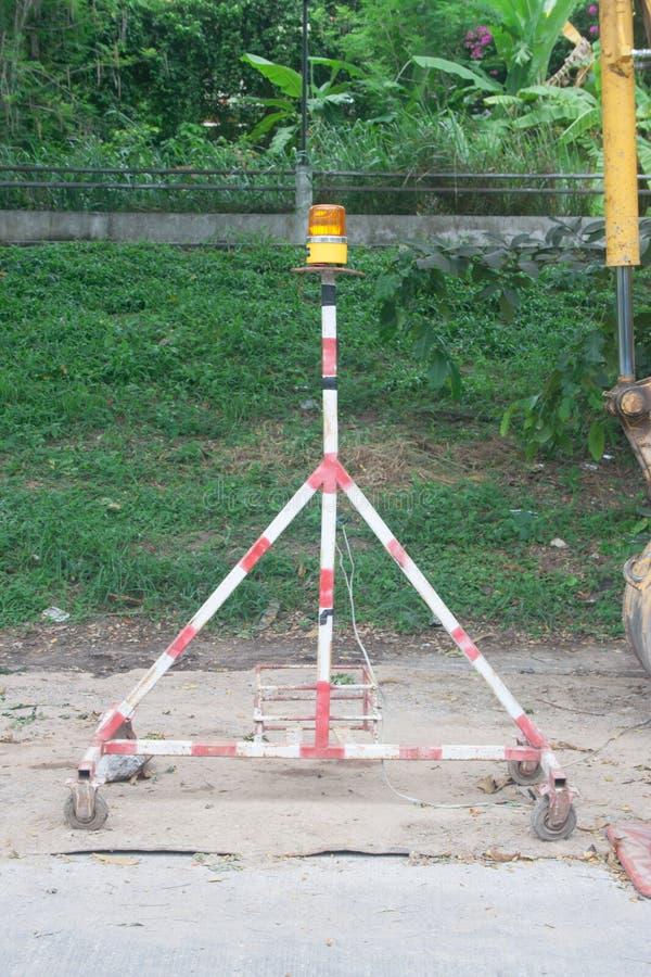 运输的应急灯在泰国 免版税图库摄影