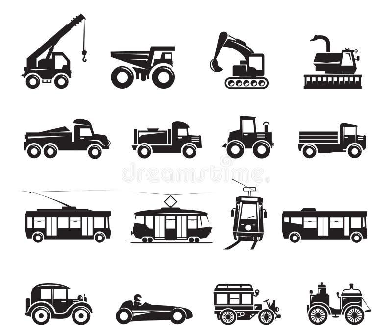 16运输象 向量例证