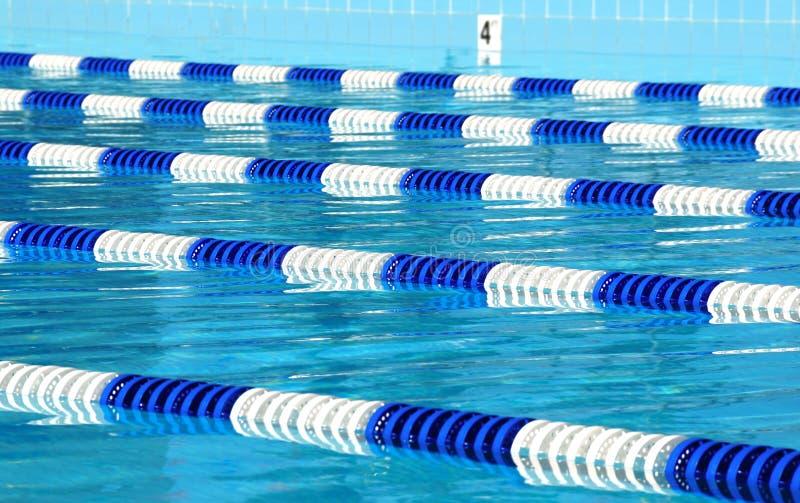 运输路线池游泳 图库摄影