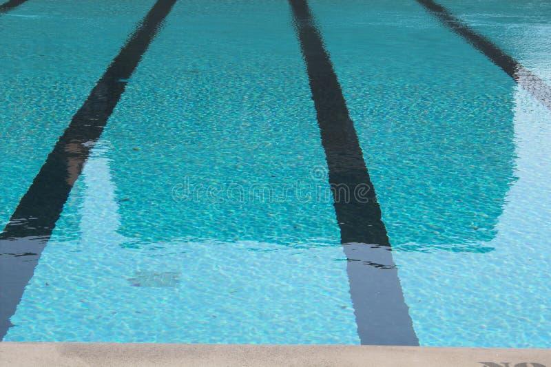 运输路线游泳 免版税库存图片