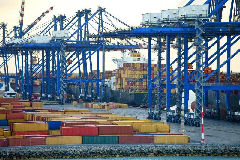 运输围场在巴哈马 库存图片