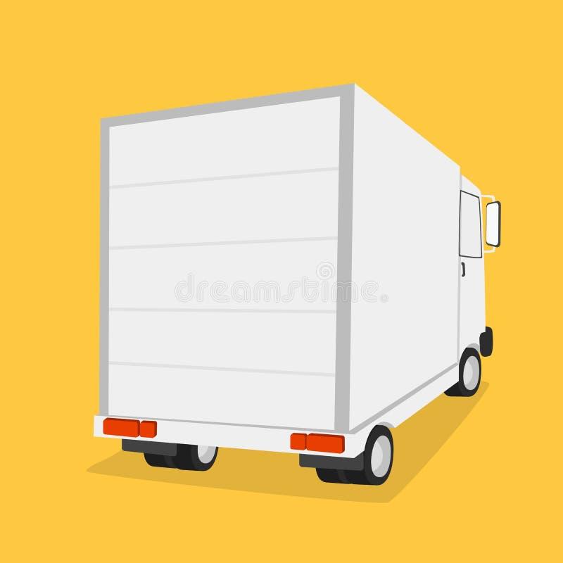 运输货物的卡车 皇族释放例证