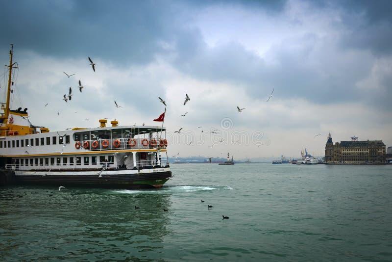 运送伊斯坦布尔 免版税图库摄影