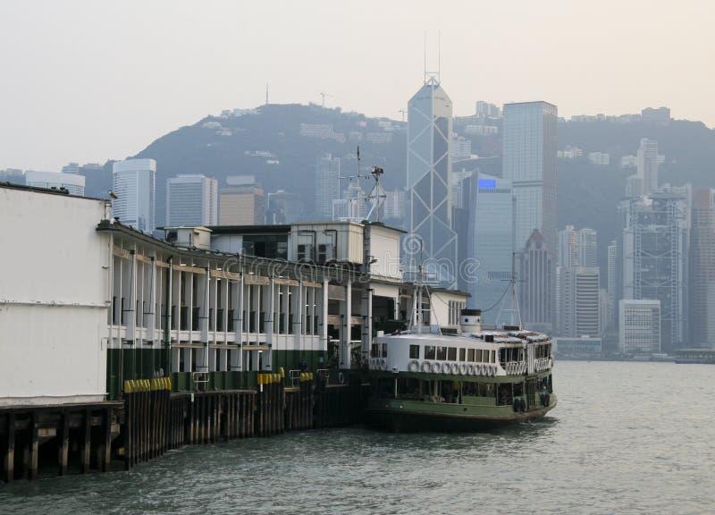 运送香港 库存照片