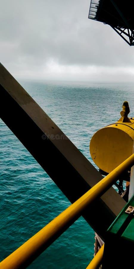 近海处俄国海 库存照片