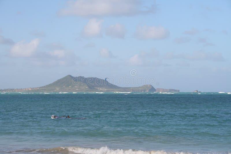 近海海岛 库存照片