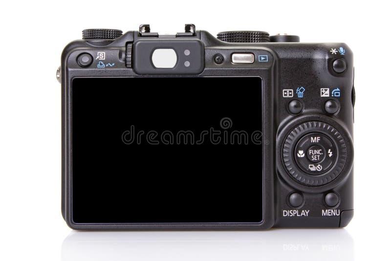返回数字式黑色照相机协定 免版税库存图片