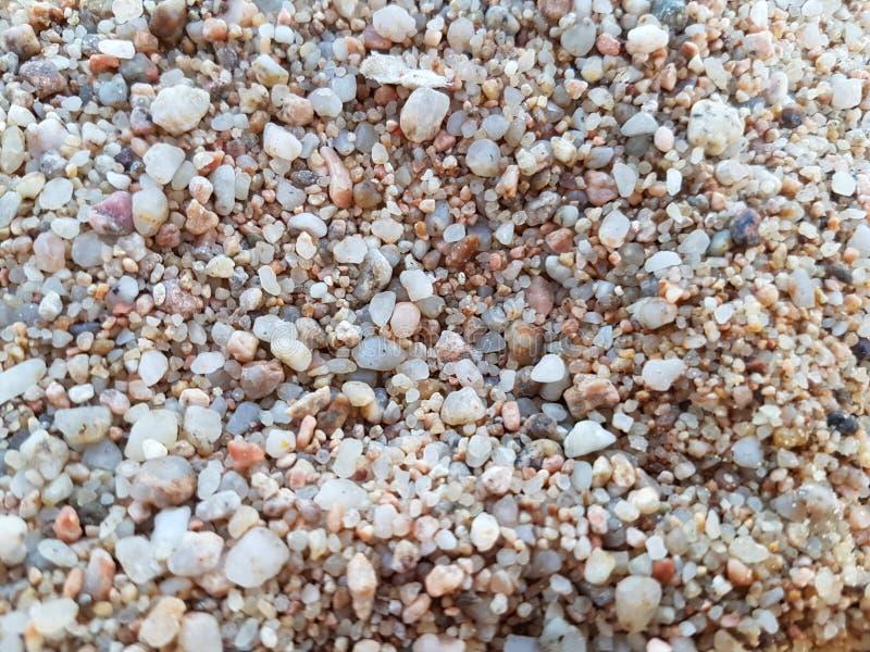 这些是海小卵石 免版税库存图片