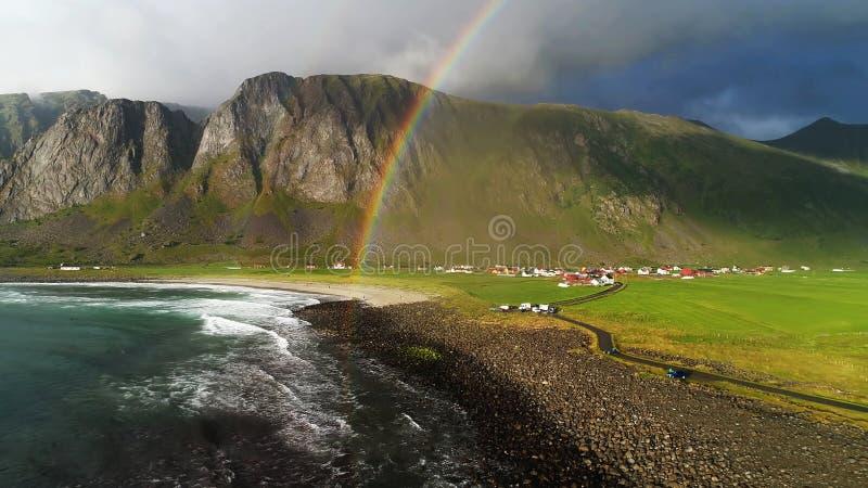 这变化莫测的挪威 免版税库存图片