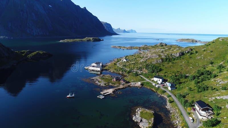 这变化莫测的挪威 免版税库存照片