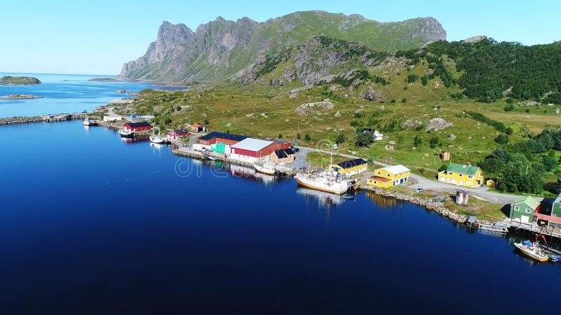 这变化莫测的挪威 图库摄影