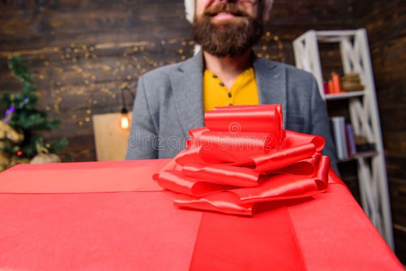 这是为您 E r 交付圣诞礼物 发运 免版税库存照片