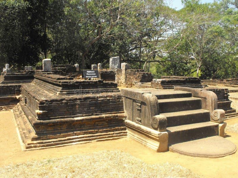 这是图象美丽的国王PALACE OF斯里兰卡 库存图片