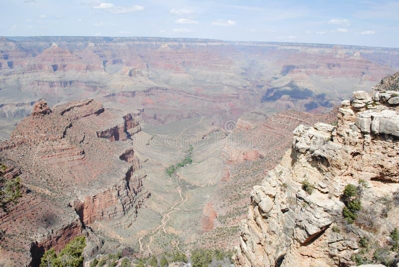 大峡谷在春天 免版税图库摄影