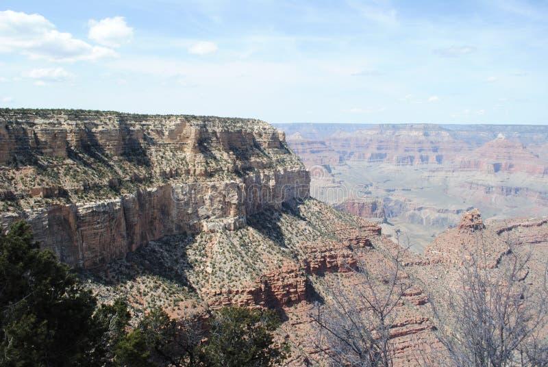 大峡谷在春天 免版税库存图片