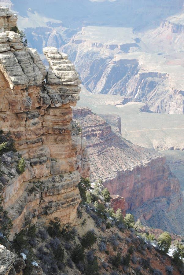 大峡谷在春天 图库摄影